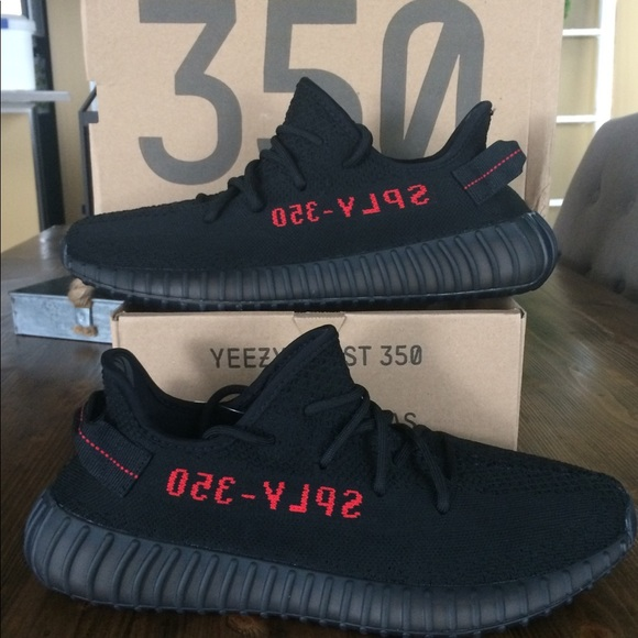 0b94b4e3aa382 Adidas Yeezy Boost 350 V2 Bred Size 11 Authentic